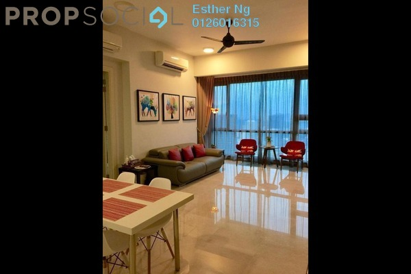 Condominium For Rent in Vogue Suites One @ KL Eco City, Mid Valley City Freehold Fully Furnished 1R/1B 3k