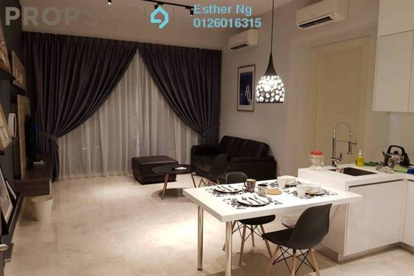 Condominium For Rent in Vogue Suites One @ KL Eco City, Mid Valley City Freehold Fully Furnished 1R/1B 2.9k