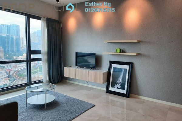 For Sale Condominium at Vogue Suites One @ KL Eco City, Mid Valley City Freehold Fully Furnished 2R/2B 1.25m