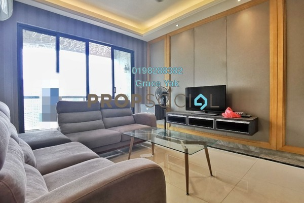 For Rent Serviced Residence at R&F Princess Cove, Johor Bahru Freehold Fully Furnished 2R/1B 1.7k