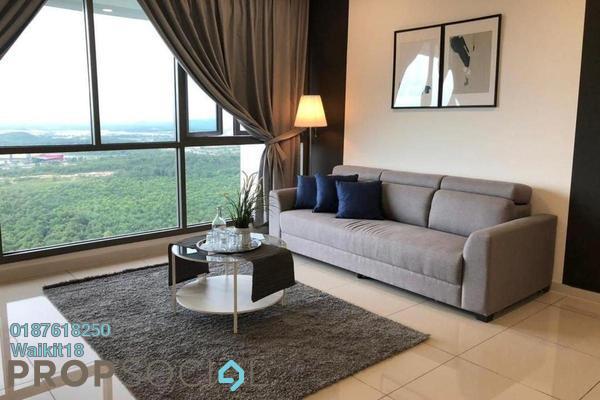 Condominium For Rent in Iskandar Residences, Medini Freehold Fully Furnished 3R/2B 2.1k
