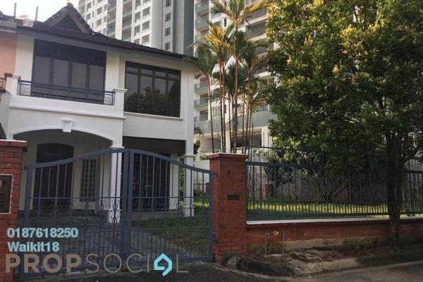 Terrace For Rent in Taman Perling, Iskandar Puteri (Nusajaya) Freehold Semi Furnished 4R/3B 1.7k