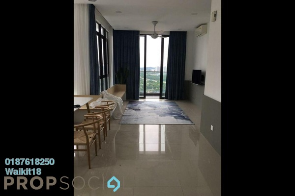 Condominium For Rent in D'Pristine, Medini Freehold Fully Furnished 3R/3B 2k