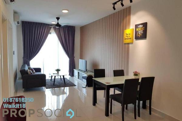 Condominium For Sale in Teega, Puteri Harbour Freehold Fully Furnished 1R/1B 360k
