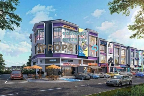 Shop For Sale in Kepayang Commerce Square, Taman Bukit Kepayang Freehold Unfurnished 0R/6B 1.65m