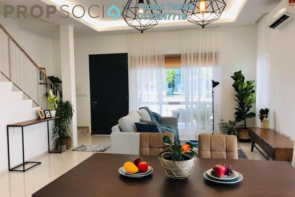 Terrace For Sale in Cybersouth, Dengkil Leasehold Fully Furnished 4R/3B 607k
