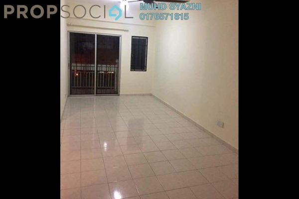 Apartment For Rent in Danaumas Apartment, Shah Alam Freehold Unfurnished 3R/2B 1.2k
