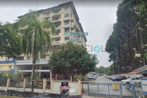 Apartment For Sale in Spectrum Apartment, Bandar Sunway Freehold Unfurnished 2R/2B 150k