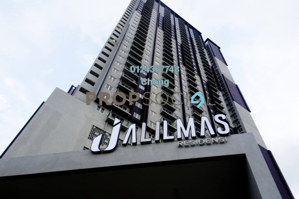 Apartment For Sale in Residensi Jalilmas, Bukit Jalil Freehold Unfurnished 3R/2B 200k