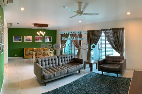 Serviced Residence For Sale in Zehn Bukit Pantai, Bangsar Freehold Semi Furnished 4R/4B 1.8m