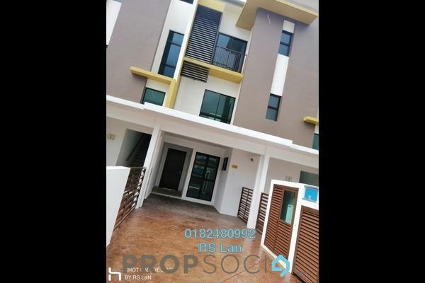 For Sale Townhouse at Cempaka Seri Town Villas, Kota Seriemas Freehold Unfurnished 3R/2B 400k