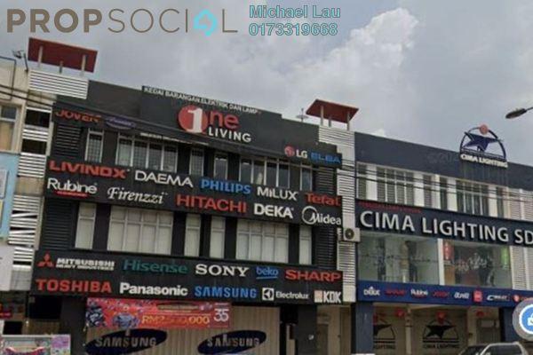 Shop For Sale in Wangsa Biz Avenue, Setapak Leasehold Semi Furnished 0R/0B 3.5m