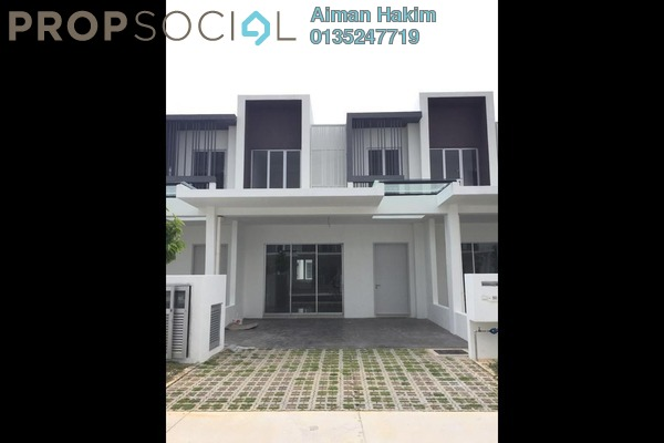 Terrace For Sale in CasaView @ Cybersouth, Dengkil Freehold Unfurnished 4R/3B 600k