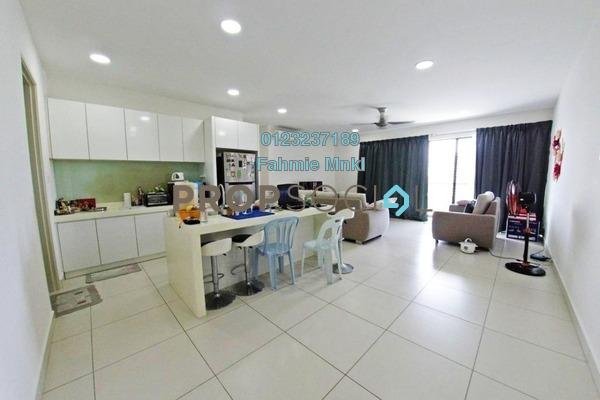 Condominium For Sale in Cristal Residence, Cyberjaya Freehold Semi Furnished 3R/2B 550k