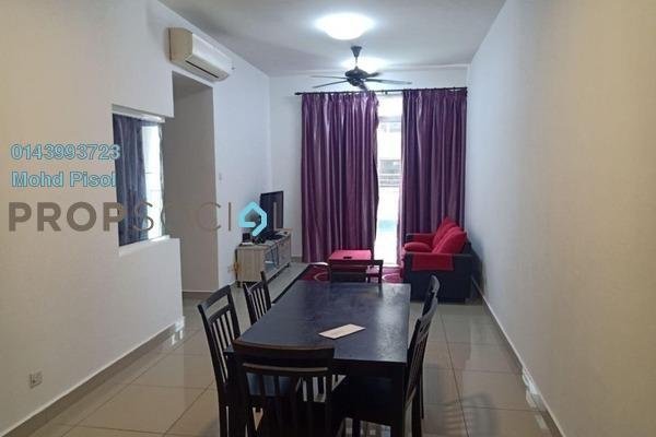 For Rent Condominium at Mutiara Ville, Cyberjaya Freehold Fully Furnished 3R/2B 1.5k