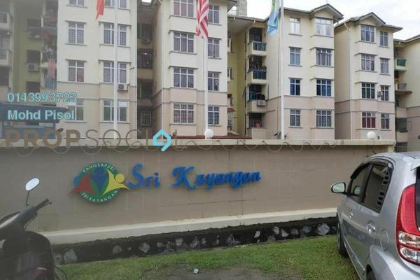 Apartment For Sale in Sri Kayangan Apartment, Ukay Freehold Unfurnished 0R/0B 300k