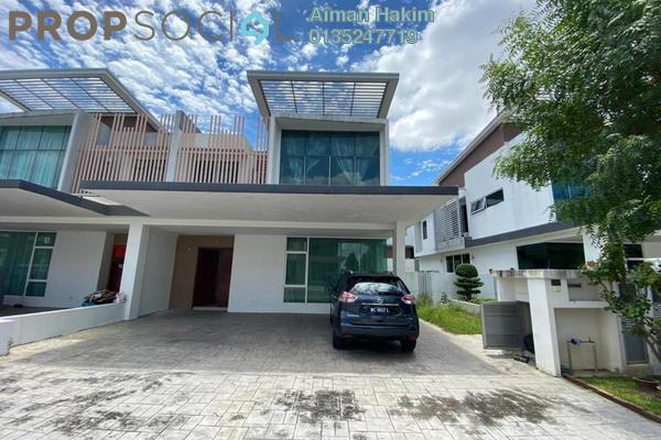 For Rent Semi-Detached at Garden Residence, Cyberjaya Freehold Semi Furnished 4R/4B 3k