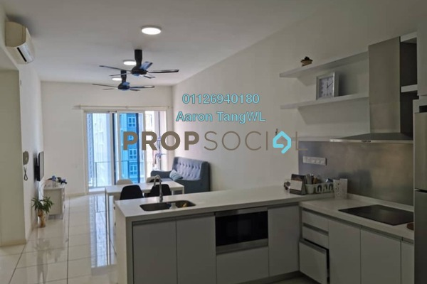 Condominium For Rent in EcoSky Residence, Kuala Lumpur Freehold Semi Furnished 3R/2B 2.5k