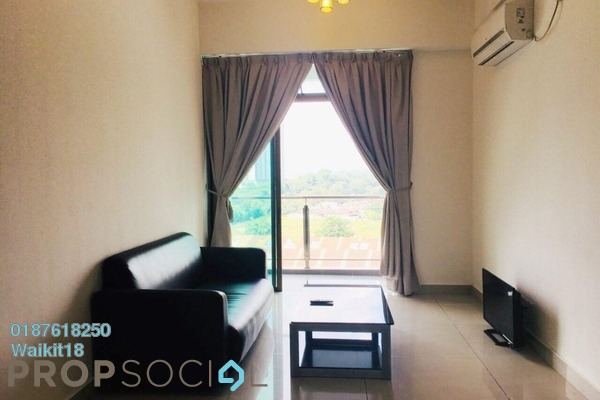 Condominium For Rent in D'Inspire Residence, Skudai Freehold Fully Furnished 3R/2B 1.4k