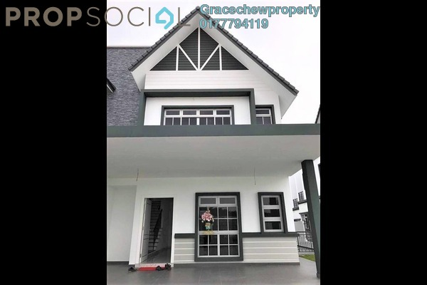 Semi-Detached For Sale in Eco Spring, Tebrau Freehold Semi Furnished 4R/5B 1.33m