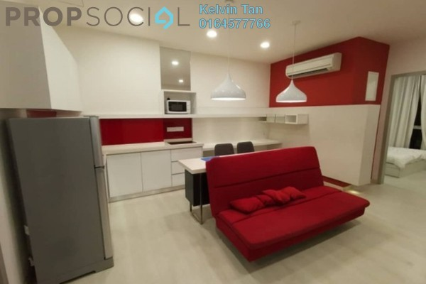Apartment For Sale in Straits Garden, Jelutong Freehold Fully Furnished 1R/1B 440k