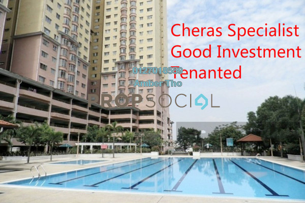Condominium For Sale in Puncak Banyan, Cheras Leasehold Fully Furnished 3R/2B 341k