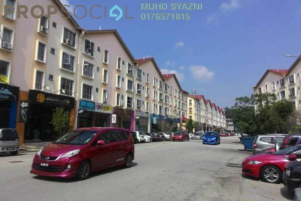 For Rent Apartment at Pusat Komersial, Shah Alam Freehold Unfurnished 3R/2B 1k