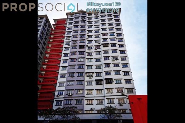 Apartment For Sale in Desa Tun Razak, Bandar Tun Razak Freehold Unfurnished 2R/1B 93k