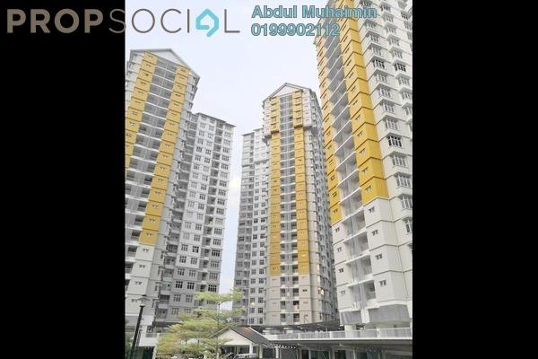 Apartment For Rent in Precinct 16, Putrajaya Freehold Semi Furnished 3R/2B 1.5k