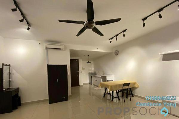 Serviced Residence For Rent in Trefoil, Setia Alam Freehold semi_furnished 0R/1B 1k
