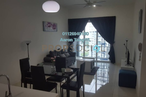 Condominium For Rent in EcoSky Residence, Kuala Lumpur Freehold Semi Furnished 3R/2B 2.6k