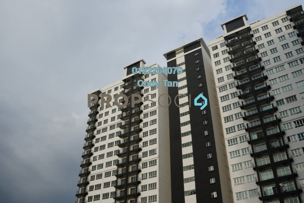 For Sale Condominium at OUG Parklane, Old Klang Road Leasehold Semi Furnished 3R/2B 405k