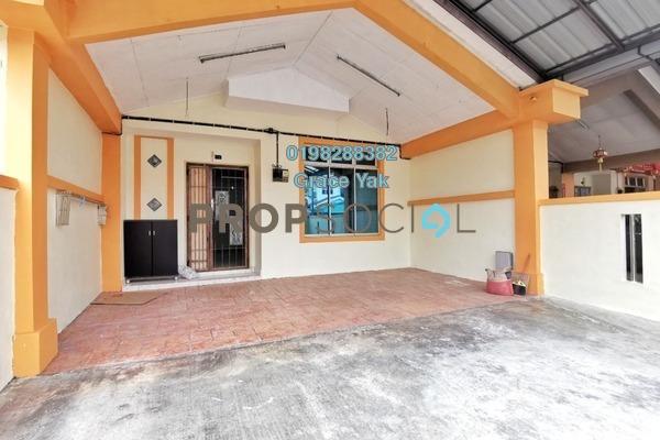 For Rent Terrace at Jalan Bayu, Bandar Seri Alam Freehold Semi Furnished 4R/3B 1.1k