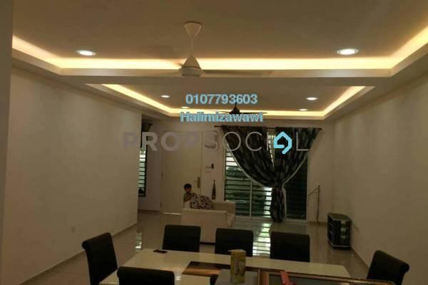 Terrace For Sale in Nusari Bayu, Bandar Sri Sendayan Freehold Semi Furnished 4R/4B 530k