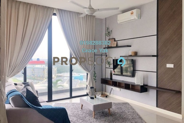 Condominium For Rent in D'Pristine, Medini Freehold Fully Furnished 3R/3B 1.6k