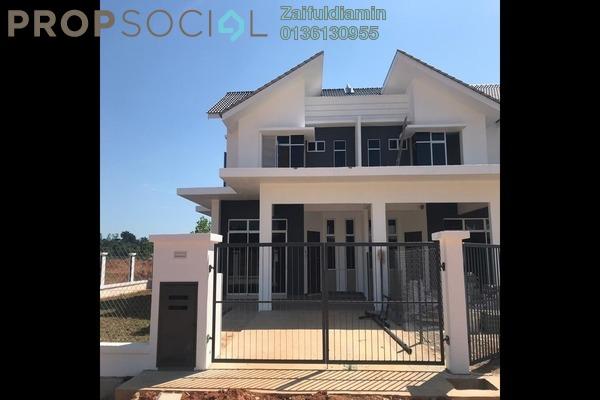 For Sale Terrace at Kampung Mengabang Tengah, Kuala Terengganu Freehold Unfurnished 4R/3B 273k