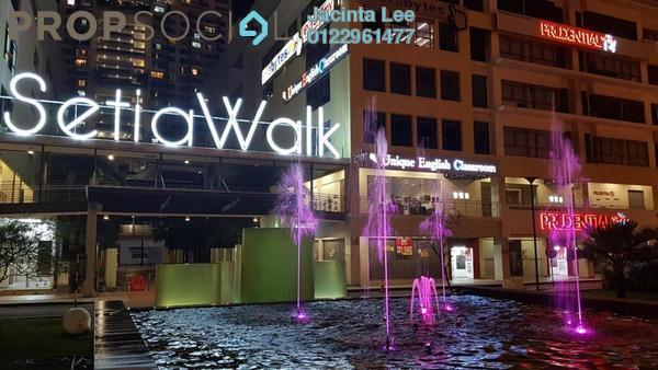Office For Sale in Setia Walk, Pusat Bandar Puchong Freehold Semi Furnished 2R/2B 656k