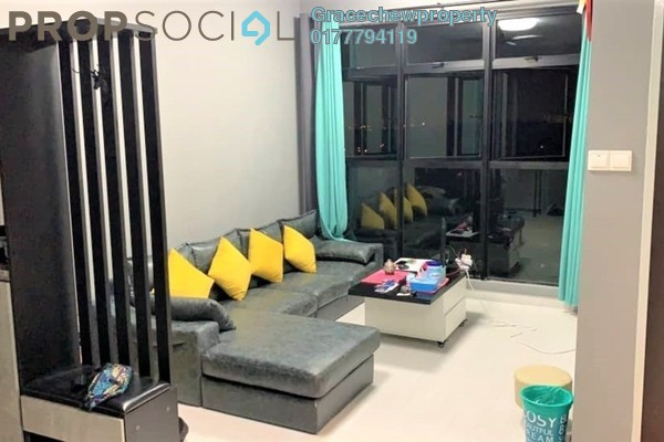 Condominium For Rent in The Garden Residences, Skudai Freehold Fully Furnished 2R/2B 1.3k