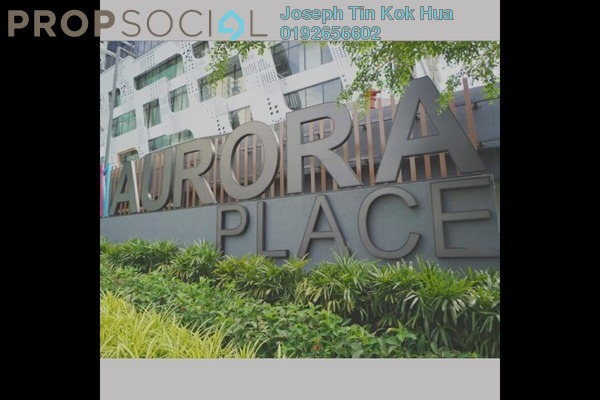 For Rent SoHo/Studio at Aurora Place, Bukit Jalil Freehold Semi Furnished 1R/1B 1.3k