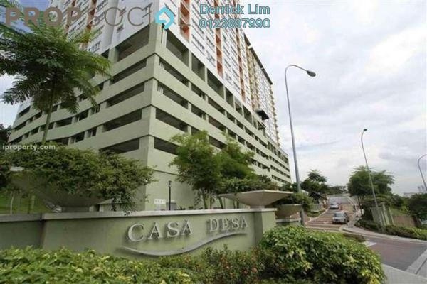For Sale Condominium at Casa Desa, Taman Desa Freehold Semi Furnished 5R/4B 680k