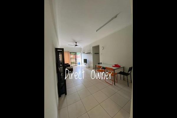 Condominium For Sale in Avilla, Bandar Puchong Jaya Freehold Semi Furnished 3R/2B 438k