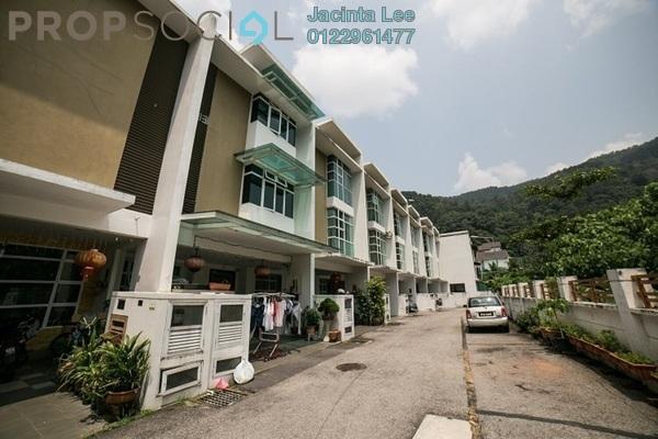 Terrace For Sale in Rambai Terrace, Paya Terubong Freehold semi_furnished 5R/5B 916k