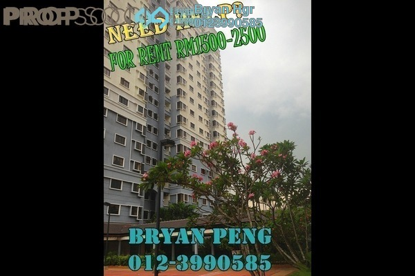 Condominium For Rent in Pelangi Utama, Bandar Utama Leasehold Semi Furnished 3R/2B 1.8k
