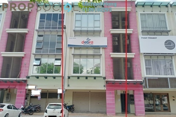 Shop For Rent in Seria 88, Setia Alam Freehold Unfurnished 0R/2B 3k