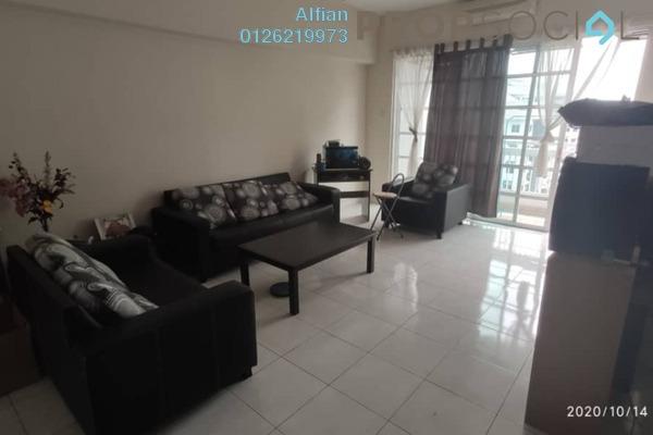 Condominium For Sale in Sterling, Kelana Jaya Freehold Semi Furnished 3R/2B 630k