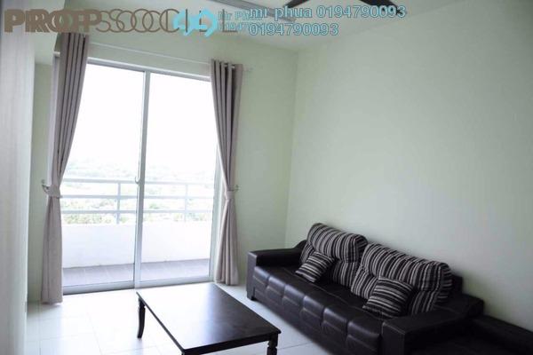 Condominium For Sale in Pinang Laguna, Seberang Jaya Freehold Semi Furnished 4R/2B 325k
