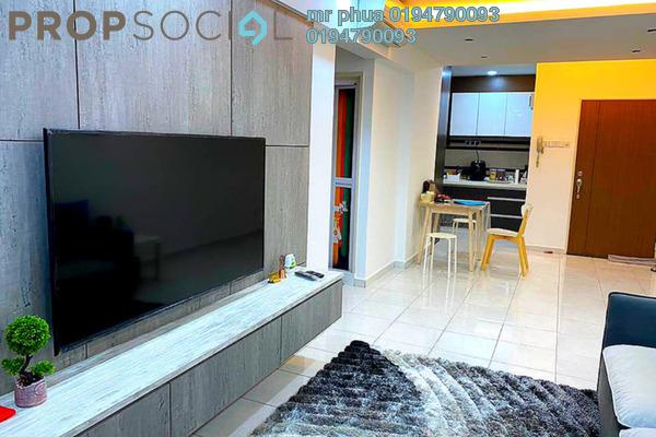 Condominium For Sale in Pinang Laguna, Seberang Jaya Freehold Fully Furnished 4R/2B 340k