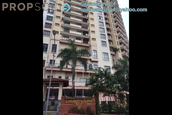 Condominium For Rent in Lanai Gurney, Keramat Freehold Fully Furnished 2R/3B 1.4k