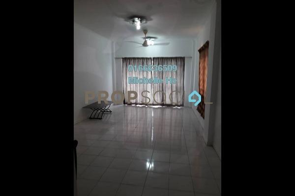 Apartment For Rent in Pan Vista, Bandar Baru Permas Jaya Freehold Semi Furnished 3R/2B 1.05k