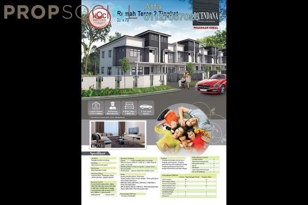 Terrace For Sale in D'Cendana Residence, Beranang Freehold Unfurnished 4R/3B 585k